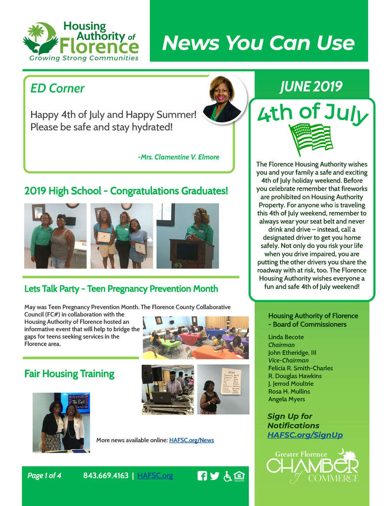 Enews June 1st page