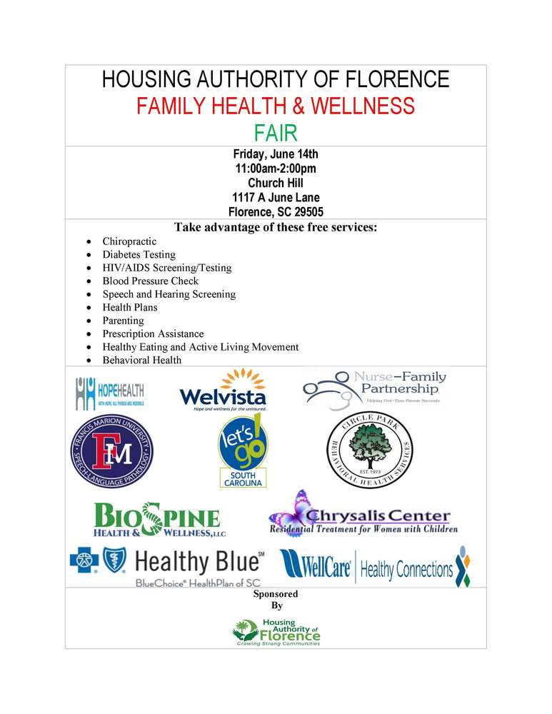 Family Health & Wellness Fair BJMADA