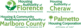 Florence Housing Authority Logos Tablet